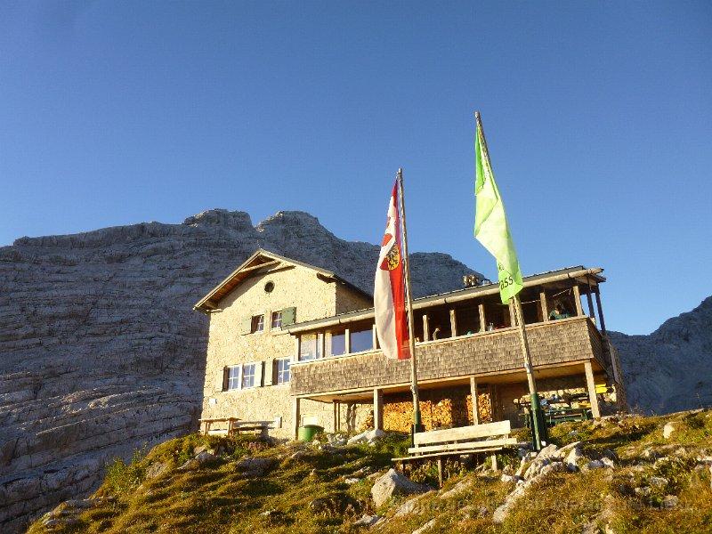 Herbstausflug zur Schmidt Zabierow Hütte in die Loferer Stoaberg