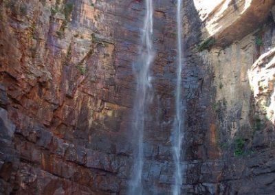 12 Jim Jim 220 m Wasserfall