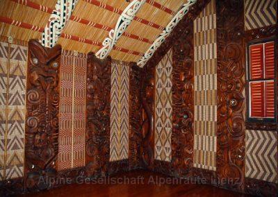 38 Maori Versammlungshaus