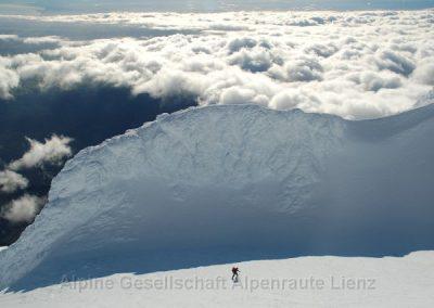 62 Taranaki Gipfelkrater