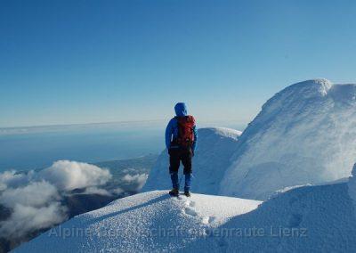 68 Taranaki Gipfelausblick