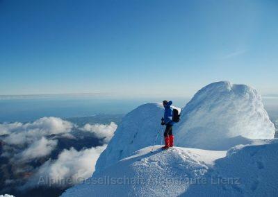 69 Taranaki Gipfelausblick