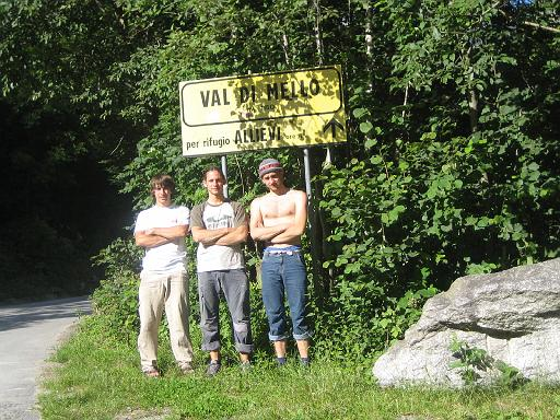 """""""Granitlehrgang"""" im Val di Mello"""