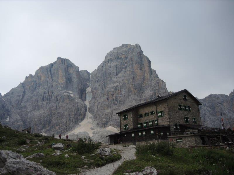 """Guglia di Brenta, 2883m, Südwestverschneidung """"Fehrmann"""""""
