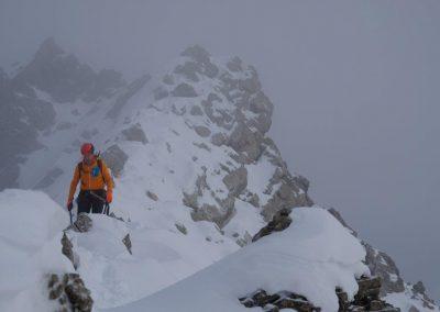 Abstieg vom Seekofel