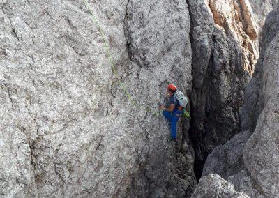 08 Klettern am Hochstadel-Pfeiler