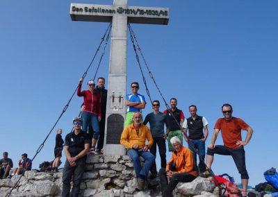 16 Gipfelfoto