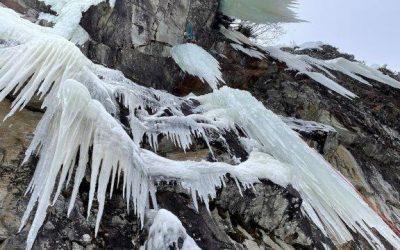"""Eiskalte Vögel, """"Angry Bird"""" und """"Firebird"""", zwei neue Eislinien im Mölltal"""